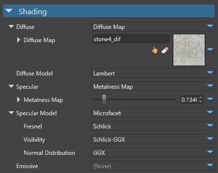 Shading attributes | Xenko